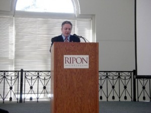 Dr. Lamont Colucci, Professor of National Security Studies, International Relations and Foreign Policy at Ripon College