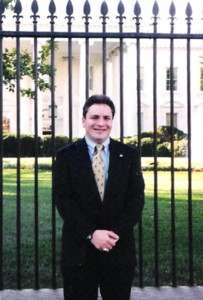 Dr. Lamont Colucci at the White House during his time at the US State Department